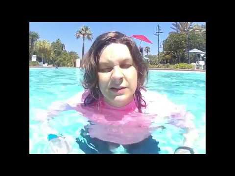Old Key West Resort Pool Day - Autistic Interpretations