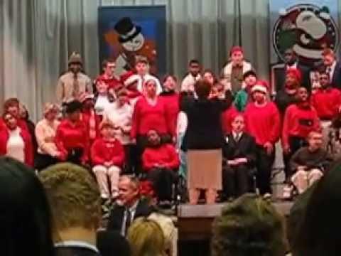 Christmas Program J singing sleigh ride