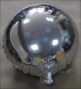 shiny metallic balloon