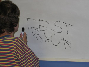 jess writing test track