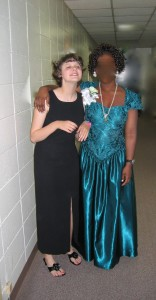 Prom - 16yrs, Cottage friend and roommate. Autistic / Blind Deaf