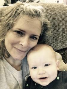 Natali and baby