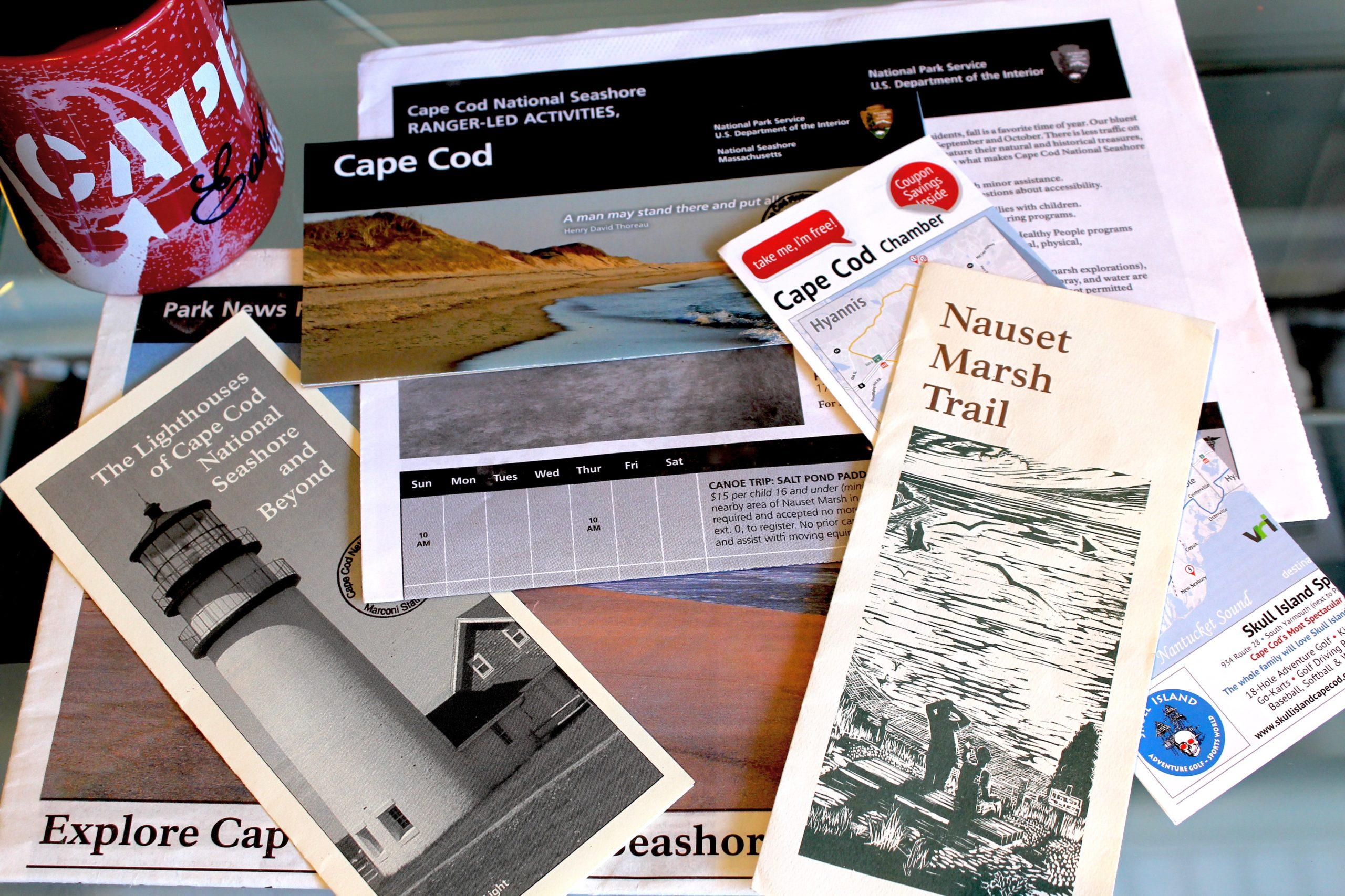 Cape Cod Brochures