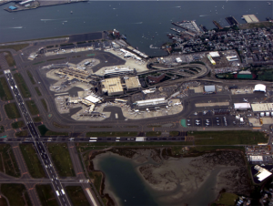 Arial Photo of Logan International Airport