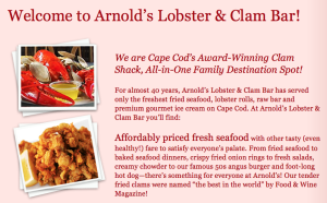 Arnold's Lobster and Clam