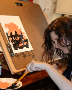 autism and painting