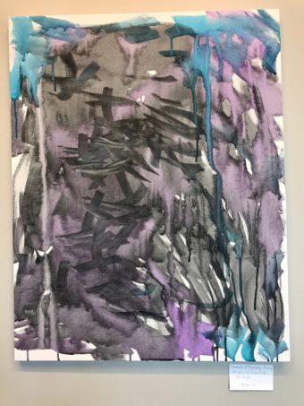 """Festival of Fantasy Parade"" $100 Acrylic on Canvas"