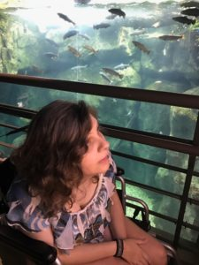 Jess at the Tennessee Aquarium
