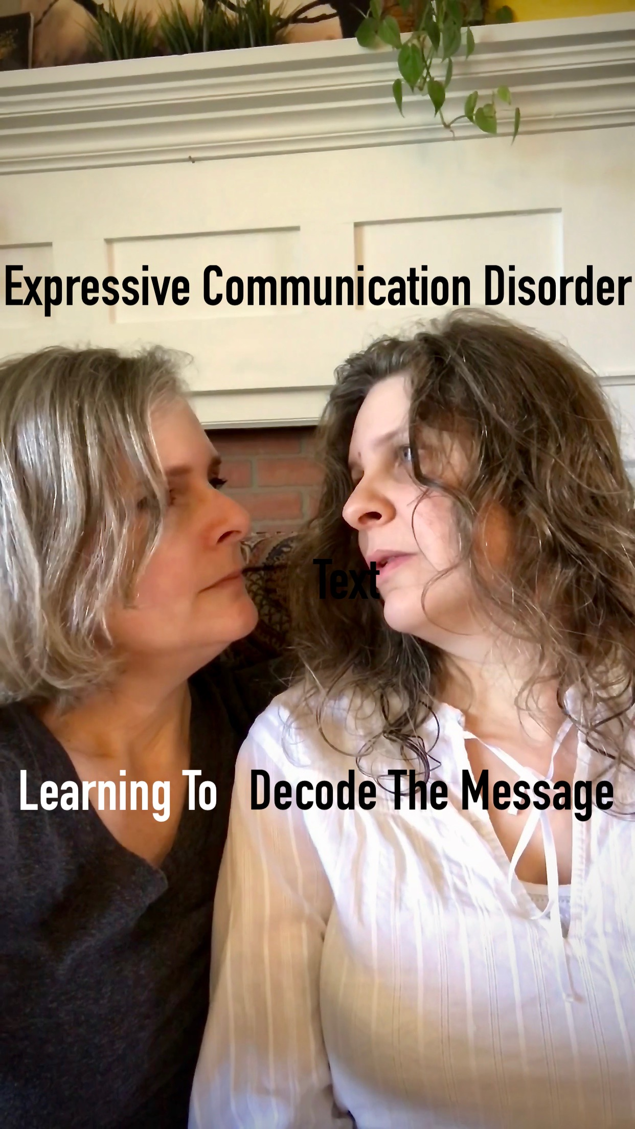 Expressive Communication Disorder - Learning To Decode The Message
